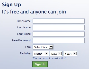 Facebook join date