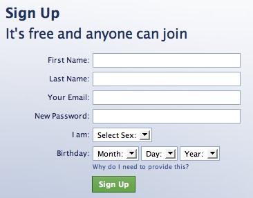 FB signin