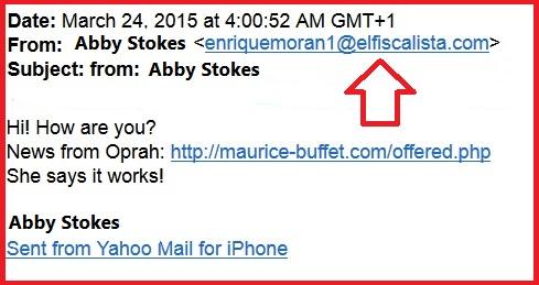 Email fake name