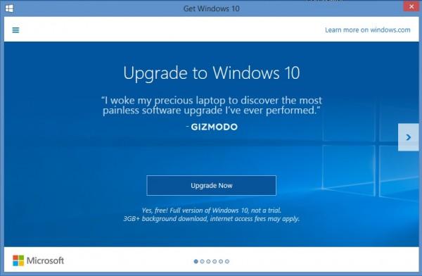 uppdatera windows 7 till windows 10 gratis